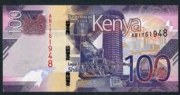 KENYA NLP 100 SHILLINGI 2019 #AB UNC. - Kenia