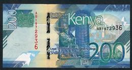 KENYA NLP 200 SHILLINGI 2019 #AB UNC. - Kenia