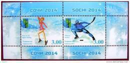 Tajikistan  2014  Sochi   S/S  TYPE 2 MNH - Tadschikistan