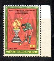 APR1785 - PAKISTAN 1971 , Serie Yvert N. 310  ***  MNH  (2380A)  Hockey - Pakistan