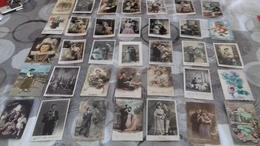 Lot 35 Cartes Postales - 5 - 99 Postcards