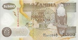 ZAMBIE 500 KWACHA 2006 UNC P 43 E - Zambie