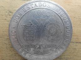 Bresil  4000 Reis  1900  Km 502.1 - Brasil