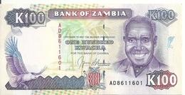 ZAMBIE 100 KWACHA ND1991 UNC P 34 - Zambie
