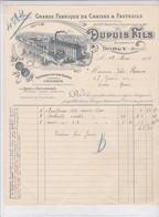55-Dupuis Fils Grande Fabrique De Chaises & Fauteuils  Sorcy (Meuse) 1912 - Other