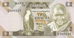 ZAMBIE 2 KWACHA ND1980-88 UNC P 24 C - Zambie