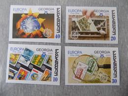 Série 4 Timbres Neuf Non Dentelés Géorgie 2006 : Cinquantenaire Du Timbre EUROPA CEPT - Europa-CEPT