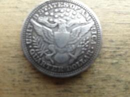 Etats-unis  Quarter Dollar  1911  Km 114 - Federal Issues