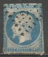 FRANCE - Oblitération Petits Chiffres LP 2 ABLIS (Yvelines) - Défectueux - 1849-1876: Periodo Classico