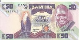 ZAMBIE 50 KWACHA 1986-88 UNC P 28 - Zambie