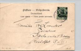 D.-Post China  Alte  Karte  (ke6258    ) Siehe Scan - Deutsche Post In China