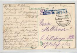 Deutsche Feldpost -  Rumänien.....Karte (ke6303    ) Siehe Scan - 1. Weltkrieg (Briefe)