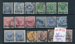 D.-Kolonien Stempel- Lot -  (oo9033   ) Siehe Scan - Germany