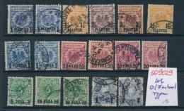 D.-Kolonien Stempel- Lot -  (oo9029   ) Siehe Scan - Germany