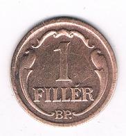 1 FILLER 1931  HONGARIJE /5316/ - Hongrie