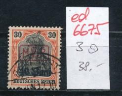 D.-Post Rumänien   3 O (ed6675  ) Siehe Scan - Besetzungen 1914-18