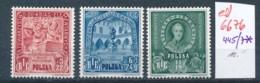 Polen Nr. 445/47 *  (ed6676  ) Siehe Scan - Nuevos