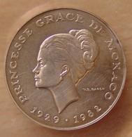 Monaco 10 Francs 1982 Essai Grace De Monaco - Mónaco