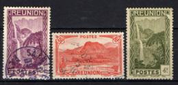 REUNION - 1933 - CASCATE DI SALAZIE, PICCO D'ANCHAIN - USATI - Reunion Island (1852-1975)