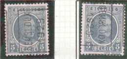 OCVB N° 4273  GEMBLOUX 1928  A B - Roulettes 1920-29