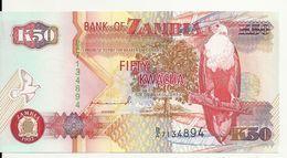 ZAMBIE 50 KWACHA 1992 UNC P 37 A - Zambie