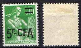 REUNION - 1963 - RACCOGLITRICE - MH - Isola Di Rèunion (1852-1975)