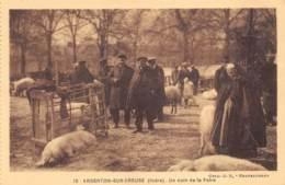 Argenton-sur-Creuse - Animée, Un Coin De La Foire - France