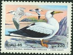 BRAZIL #2002 -    Archipelago Of  Abrolhos - Atoba  (Sula Dactylatra ) 1985  MINT - Brazil