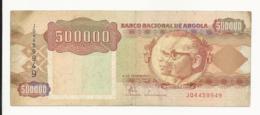 Angola 500000 Kwanzas 1991 Almost EF Some Dirtiness - Angola