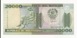 Mozambique 20000 Meticais 1999 EF - Mozambique