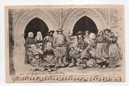- CPA VANNES (56) - Mendiants Bretons Des Différentes Localités Réunis Pour Un Pardon 1902 - Collection Villard 1123 - - Vannes
