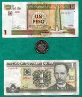 3 Pesos Cubains - Cuba