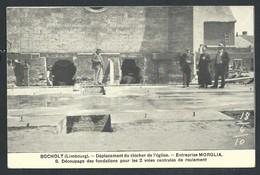 +++ CPA - BOCHOLT - Limbourg - Déplacement Du Clocher De L'Eglise - Entreprise Morglia   // - Bocholt