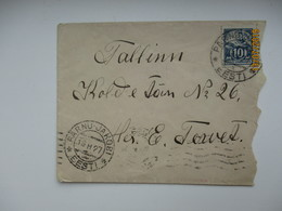 1927 ESTONIA PUBLICITY SLOGAN AQCUIRE OLYMPIC COMMITTEE LOTERY TICKETS   ,  OLD COVER   ,0 - Summer 1928: Amsterdam