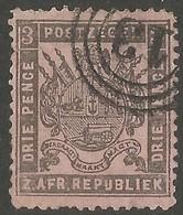 Transvaal 1883. 3d Grey-black/rose. SACC 175, SG 172. Lydenburg Cancel. - Sud Africa (...-1961)