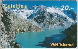 SWITZERLAND - PHONE CARD - PRÉPAIES SUISSE  *** RARE * TELELINE N° 19 *** - Switzerland