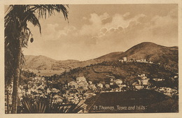 St Thomas  Town And Hills  A.H. Riise - Isole Vergini Americane