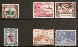 NORTH BORNEO 1941 WAR TAX AND 1949 UPU SETS LIGHTLY MOUNTED MINT Cat £20.75 - Nordborneo (...-1963)