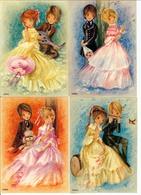 L. DOBON  -  COUPLES ROMANTIQUES  - LOT De 6 CPSM  - - Ilustradores & Fotógrafos