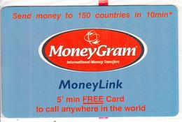 GREECE - MoneyGram, Vivodi Promotion Prepaid Card, Tirage 2500, Exp.date 30/04/03, Mint - Greece