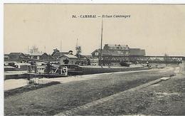 Cambrai: L'écluse Cantimpré - Cambrai