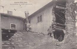 54. PONT A MOUSSON. GUERRE 1914-18. BOMBARDEMENT + TEXTE DU 13 FEVRIER 1916 - War 1914-18