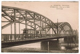 Duisburg, Ruhrbrücke, Strassebahn, Tram, Tramway (pk59785) - Duisburg