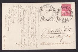 Brazil: PPC Picture Postcard To Germany, 1930, 1 Stamp, Agfa Photo Picture, Rio De Janeiro (very Small Stains) - Brazilië