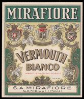 Etichetta: MIRAFIORE Vermouth Bianco - Imbottigliato Dal Cliente (MIRAFIORE Di CANELLI) - Altri