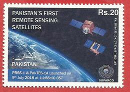 "Pakistan -  SUPARCO ""Pakistan's First Remote Sensing Satellite"" - Space"