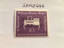Germany Mozart 1956 Mnh - [7] Federal Republic