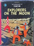 TINTIN Explorers On The Moon / On A Marché Sur La Lune GB 1959 Methuen & Co Ltd - Livres, BD, Revues