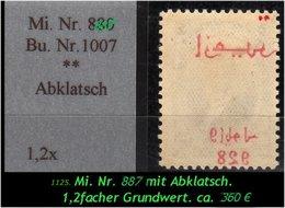 EARLY OTTOMAN SPECIALIZED FOR SPECIALIST, SEE....Mi. Nr. 887 Mit Schönen, Seltenen Abklatsch - 1921-... República