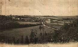 CPA  (01)   JAILLEU  Près MONTLUEL -  Le Village - Altri Comuni